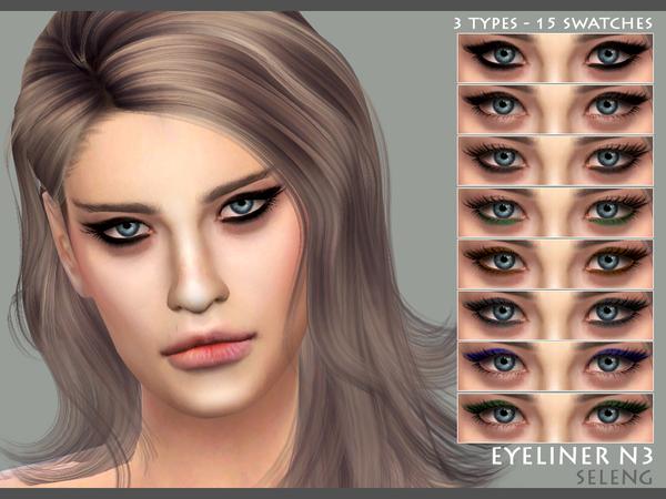 Eyeliner N3 by Seleng at TSR image 1110 Sims 4 Updates