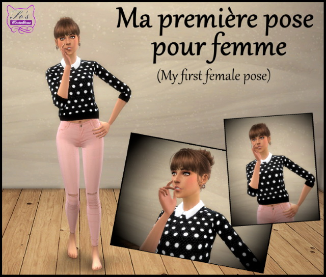 Female pose by Sophie Stiquet at Sims 4 Fr image 11110 Sims 4 Updates
