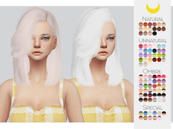 Sims 4 Hair Retexture 47 LeahLilliths Lush Life by Kalewa a at TSR