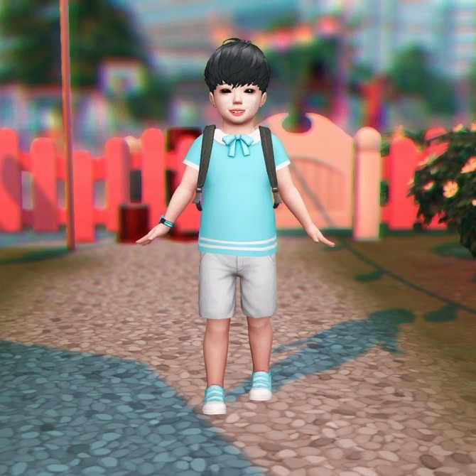 Toddler Pose N06 + Accessories at qvoix – escaping reality image 111 p3 670x670 Sims 4 Updates