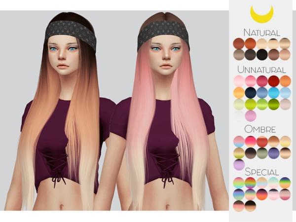 Sims 4 Hair Retexture 56 LeahLilliths Karin by Kalewa a at TSR