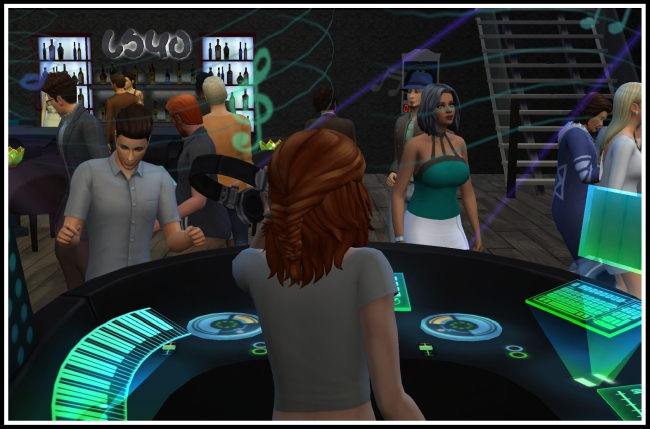 Sims 4 Live in Business mod at LittleMsSam
