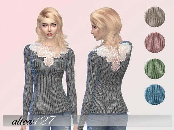 Sims 4 Romantic shirt by altea127 at TSR