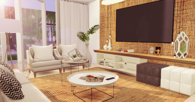 Living Room Minimalist at Lily Sims image 117 Sims 4 Updates