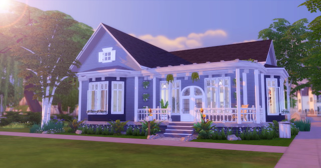 American Simple House at Lily Sims image 1174 Sims 4 Updates