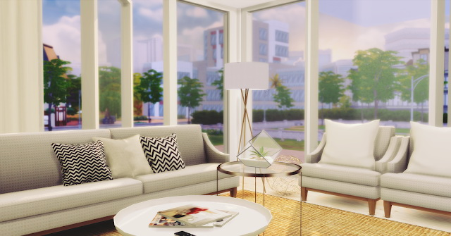 Living Room Minimalist at Lily Sims image 119 Sims 4 Updates