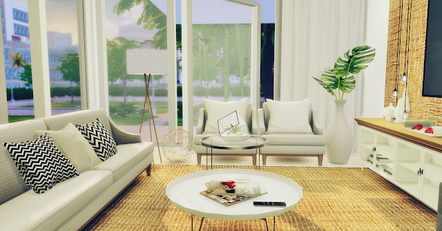 Living Room Minimalist at Lily Sims image 120 Sims 4 Updates
