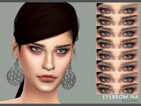 Eyebrows N4 M/F by Seleng at TSR image 1211 Sims 4 Updates