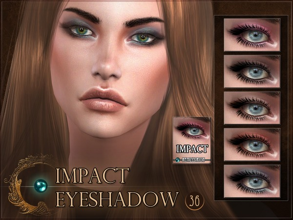 Impact Eyeshadow by RemusSirion at TSR image 1218 Sims 4 Updates