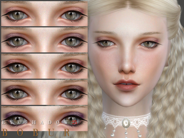 Eyeshadow 25 by Bobur3 at TSR image 1220 Sims 4 Updates