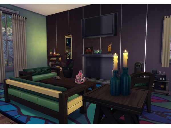 Sims 4 Winchester home by Degera at TSR