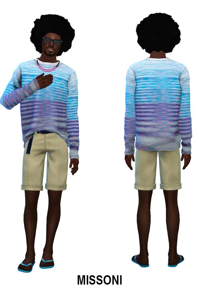Men Pret A Porter 2018 (P) at Rhowc image 1235 Sims 4 Updates