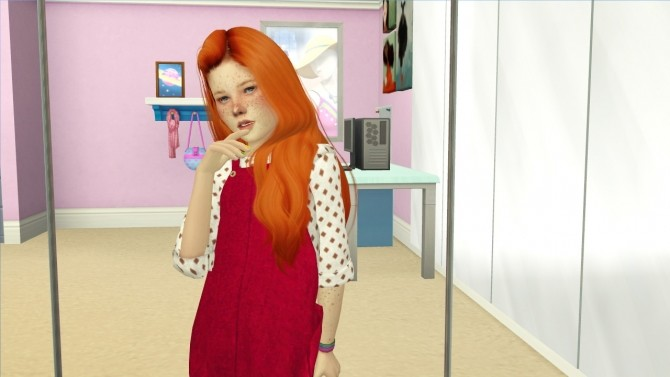 WINGS OE0414 F HAIR KIDS VERSION at REDHEADSIMS – Coupure Electrique image 13110 670x377 Sims 4 Updates