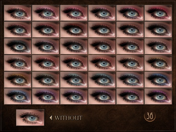Impact Eyeshadow by RemusSirion at TSR image 1319 Sims 4 Updates