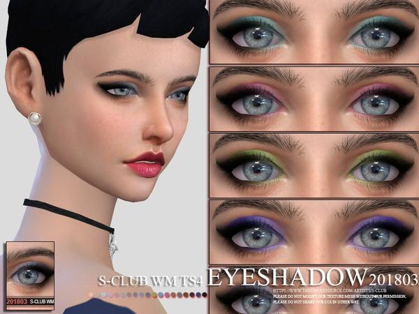 Sims 4 Eyeshadow 201803 by S Club WM at TSR