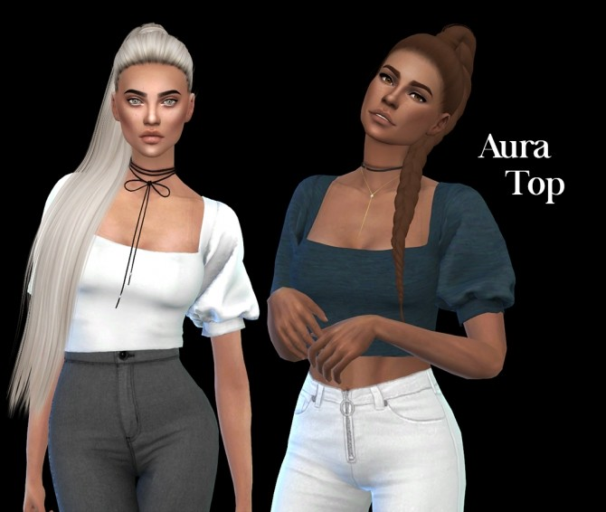 Aura Top at Leo Sims image 1356 670x566 Sims 4 Updates