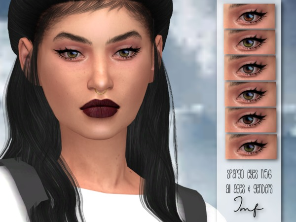IMF Spargo Eyes N.56 M/F by IzzieMcFire at TSR image 1393 Sims 4 Updates
