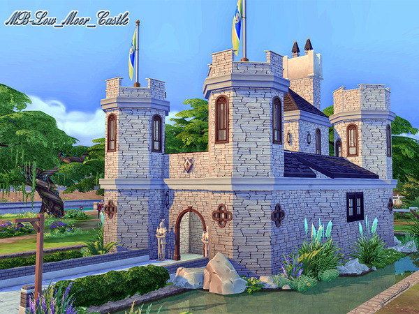 MB Low Moor Castle by matomibotaki at TSR image 1411 Sims 4 Updates