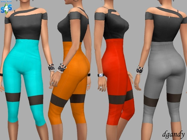 Capris Gina by dgandy at TSR image 1419 Sims 4 Updates