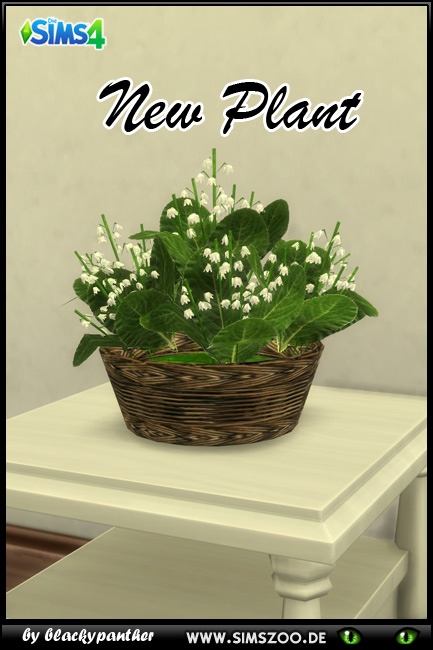 Lily of the valley 1 by blackypanther at Blacky's Sims Zoo image 148 Sims 4 Updates