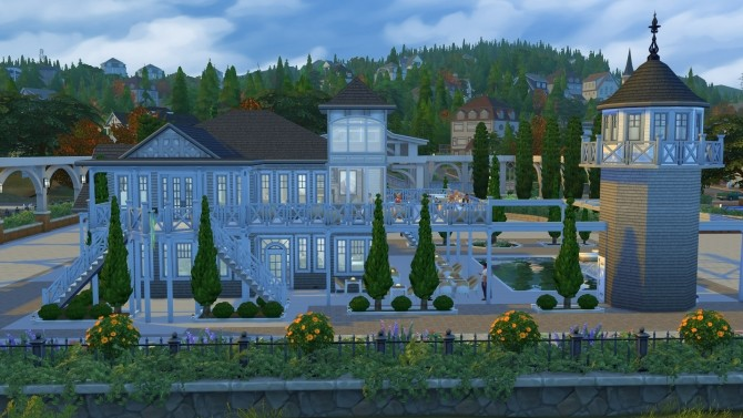 Sims 4 Brindleton Bay Yacht Club by Kriint at Mod The Sims