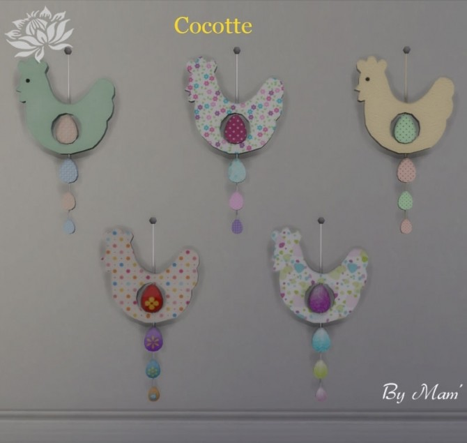 Easter deco set by Maman Gateau at Sims Artists image 151 670x635 Sims 4 Updates