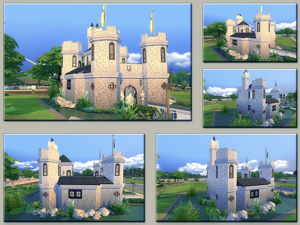 MB Low Moor Castle by matomibotaki at TSR image 1511 Sims 4 Updates