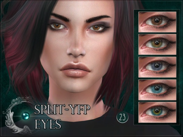 Split YFP Eyes by RemusSirion at TSR image 1512 Sims 4 Updates