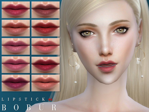 Sims 4 Lipstick 44 by Bobur3 at TSR