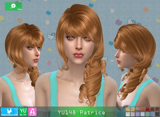 YU148 Patrice hair at Newsea Sims 4 image 1519 670x491 Sims 4 Updates