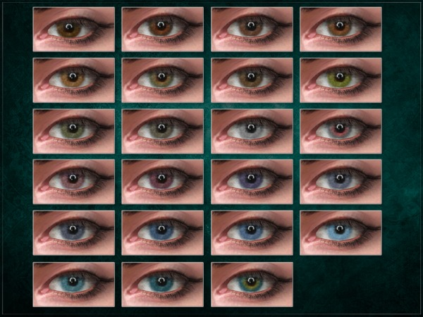 Split YFP Eyes by RemusSirion at TSR image 1521 Sims 4 Updates