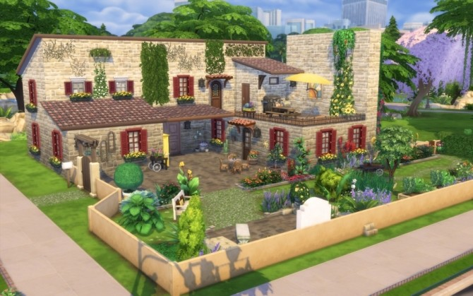 Azucena house by Bloup at Sims Artists image 155 670x419 Sims 4 Updates