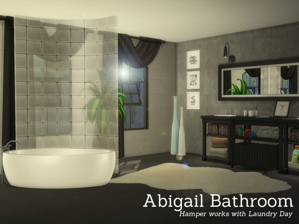 Abigail Bathroom by Angela at TSR image 1551 Sims 4 Updates