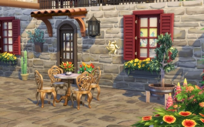 Azucena house by Bloup at Sims Artists image 157 670x419 Sims 4 Updates
