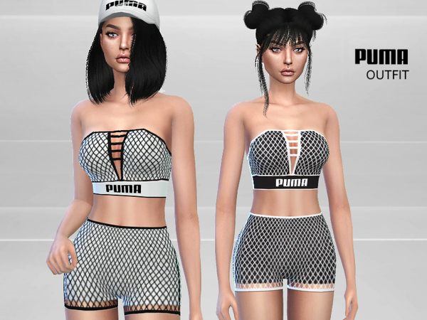 Sporty outfit by Puresim at TSR image 1571 Sims 4 Updates