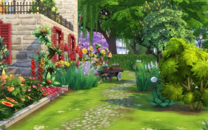 Azucena house by Bloup at Sims Artists image 158 670x419 Sims 4 Updates