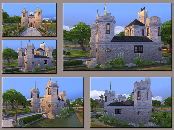 MB Low Moor Castle by matomibotaki at TSR image 1611 Sims 4 Updates