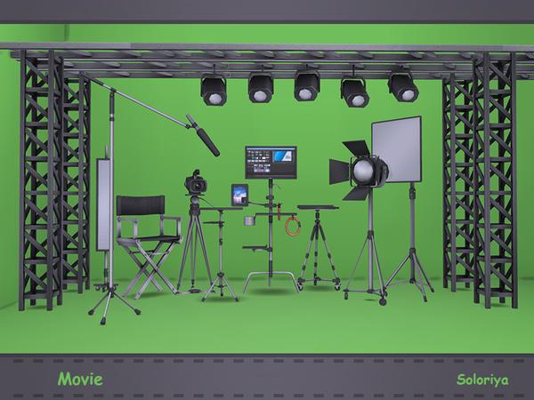 Movie set by soloriya at TSR image 1612 Sims 4 Updates