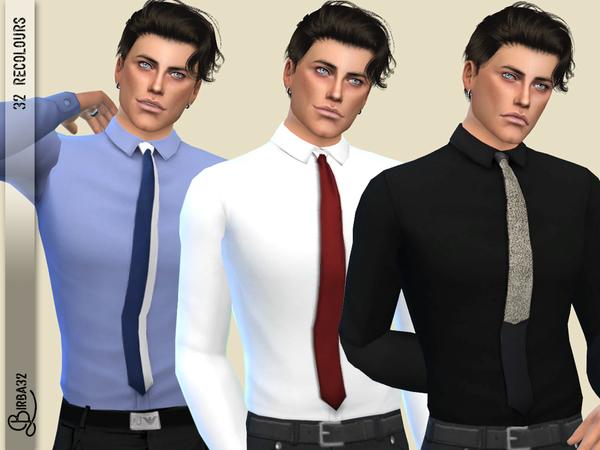 Bill shirts The revenge by Birba32 at TSR image 1618 Sims 4 Updates