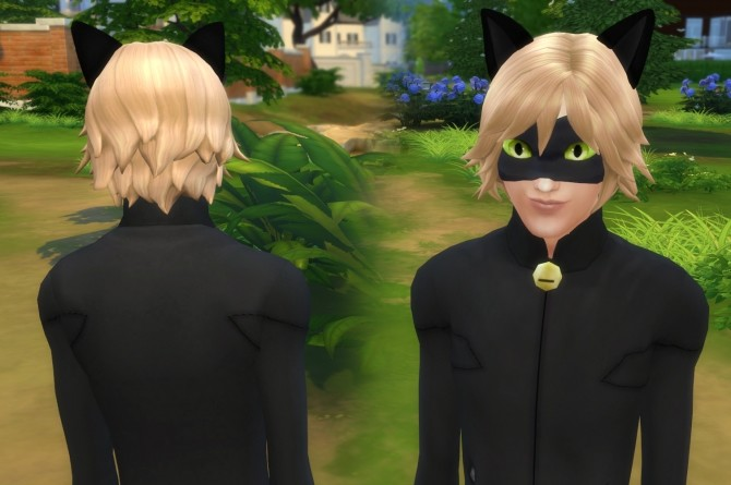 Cat Noir Mask and Ears at My Stuff image 163 670x445 Sims 4 Updates