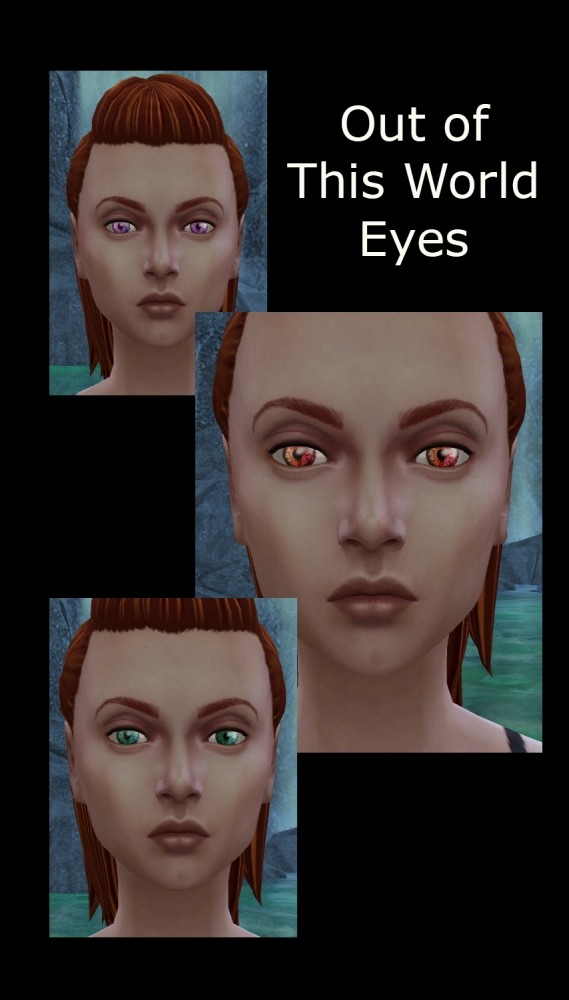 Out of This World Eyes 3 Sets of Colours by Simmiller at Mod The Sims image 1682 569x1000 Sims 4 Updates