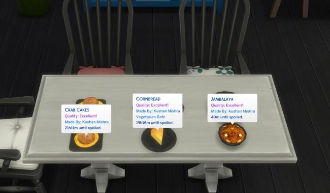 Sims 4 Louisiana Style Recipes 2 Cornbread, Crabcake and Jambalaya by icemunmun at Mod The Sims