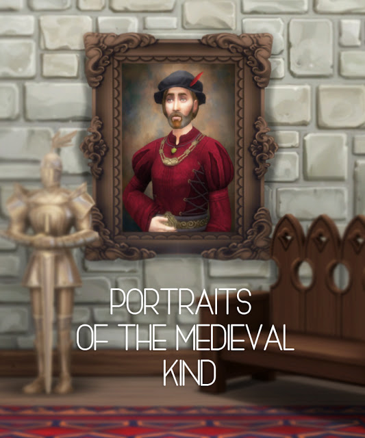 Portraits of the Medieval kind at Historical Sims Life image 169 Sims 4 Updates