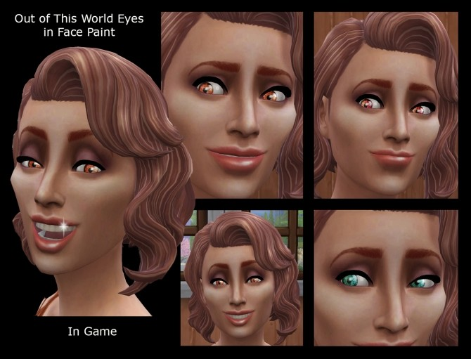 Out of This World Eyes 3 Sets of Colours by Simmiller at Mod The Sims image 1692 670x511 Sims 4 Updates