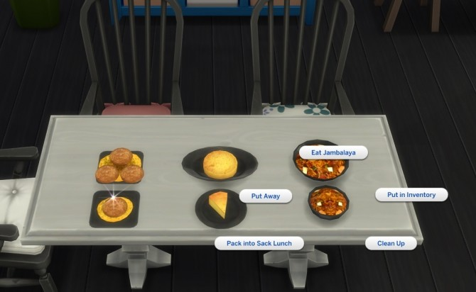 Louisiana Style Recipes 2 Cornbread, Crabcake and Jambalaya by icemunmun at Mod The Sims image 1693 670x412 Sims 4 Updates