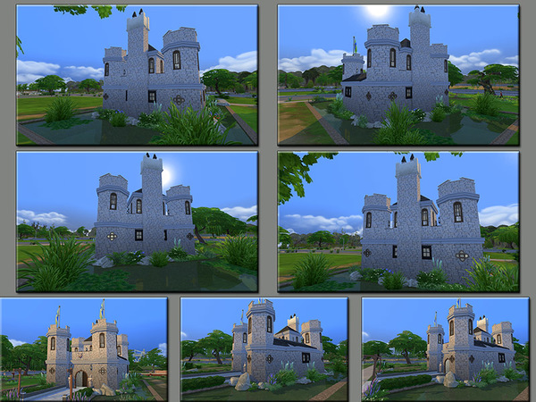 MB Low Moor Castle by matomibotaki at TSR image 1710 Sims 4 Updates