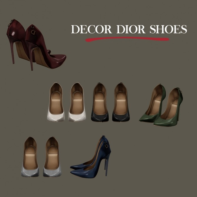 Sims 4 Decor Shoes at Leo Sims