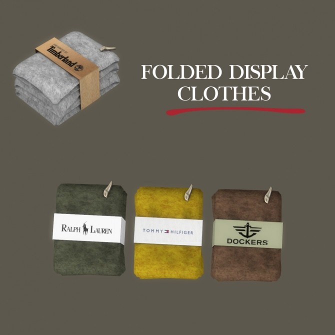 Folded Display Clothes at Leo Sims image 173 670x670 Sims 4 Updates
