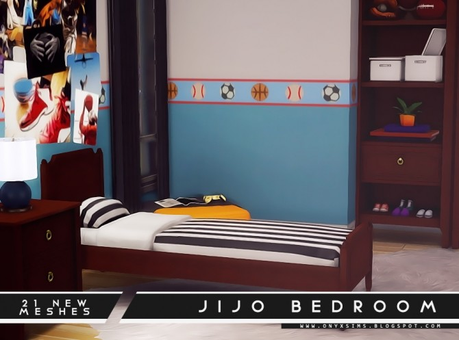 Jijo Bedroom Set at Onyx Sims image 1734 670x497 Sims 4 Updates