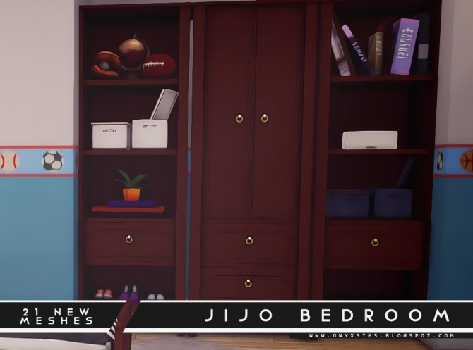 Jijo Bedroom Set at Onyx Sims image 1744 670x497 Sims 4 Updates
